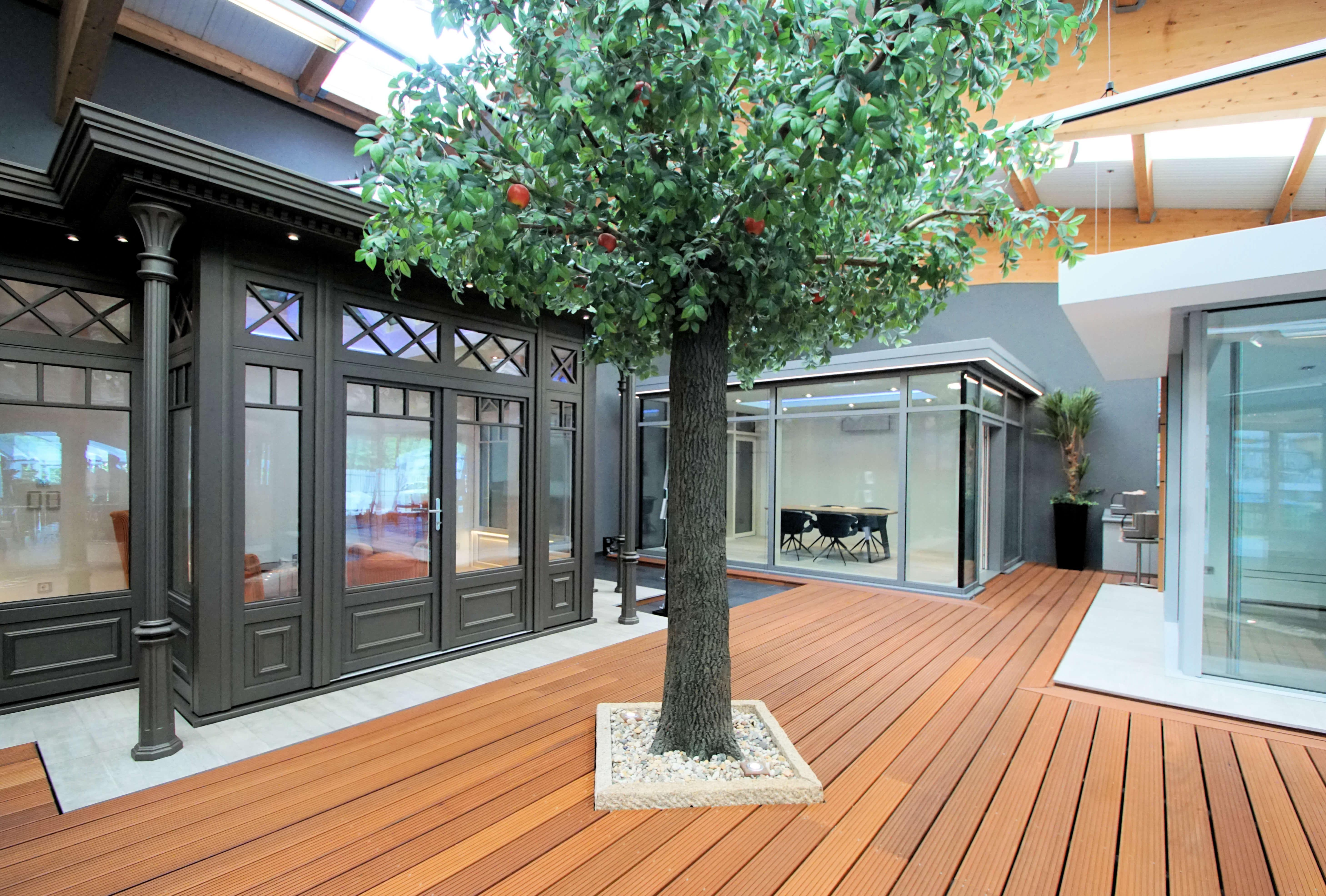 Wintergarten-Hersteller: Wintergarten-Ausstellung