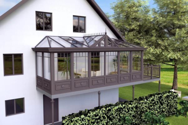 Balkon Wintergarten Ganzjahrig Licht Sonne Geniessen