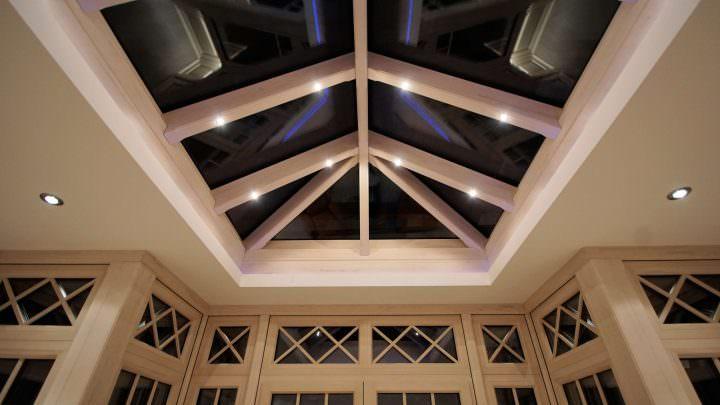 Wintergarten-Zubehör: Integrierte Beleuchtung