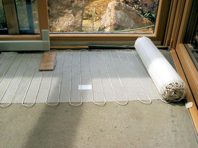 Nachträglicher Einbau Fußbodenheizung die passende heizung für jeden wintergarten