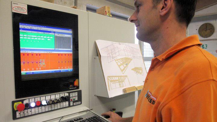 CNC-Technologie bei der Planung von Wintergärten