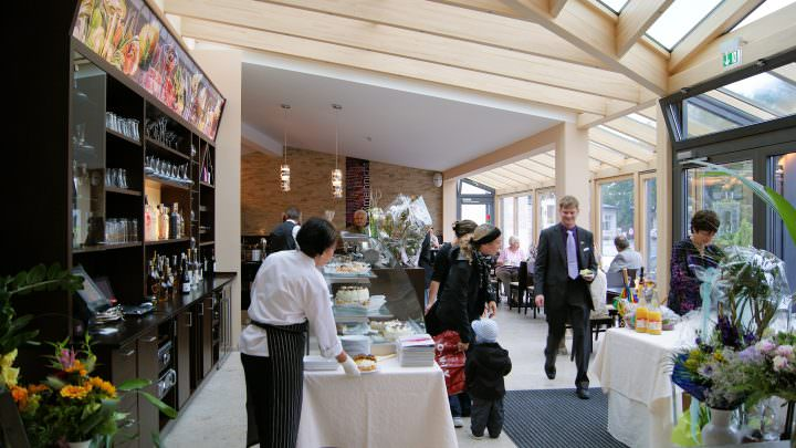 Veranstaltungen im Gastronomie-Wintergarten