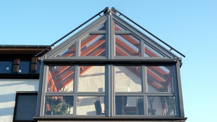 Wintergarten-Glashaus