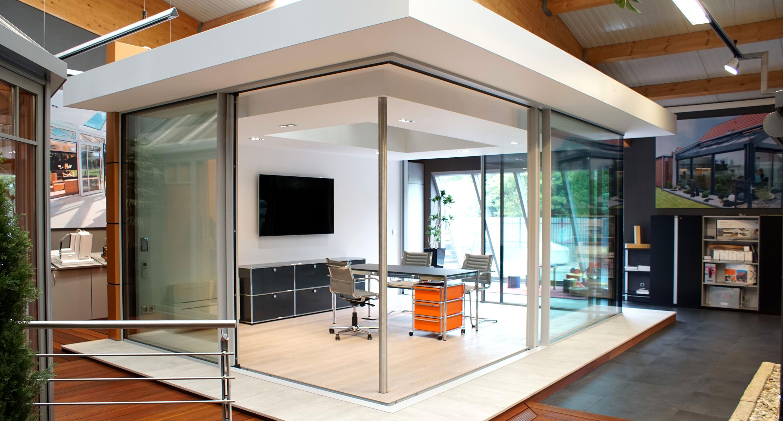 Neues krenzer glashaus in unserer ausstellung - Glashaus wintergarten ...