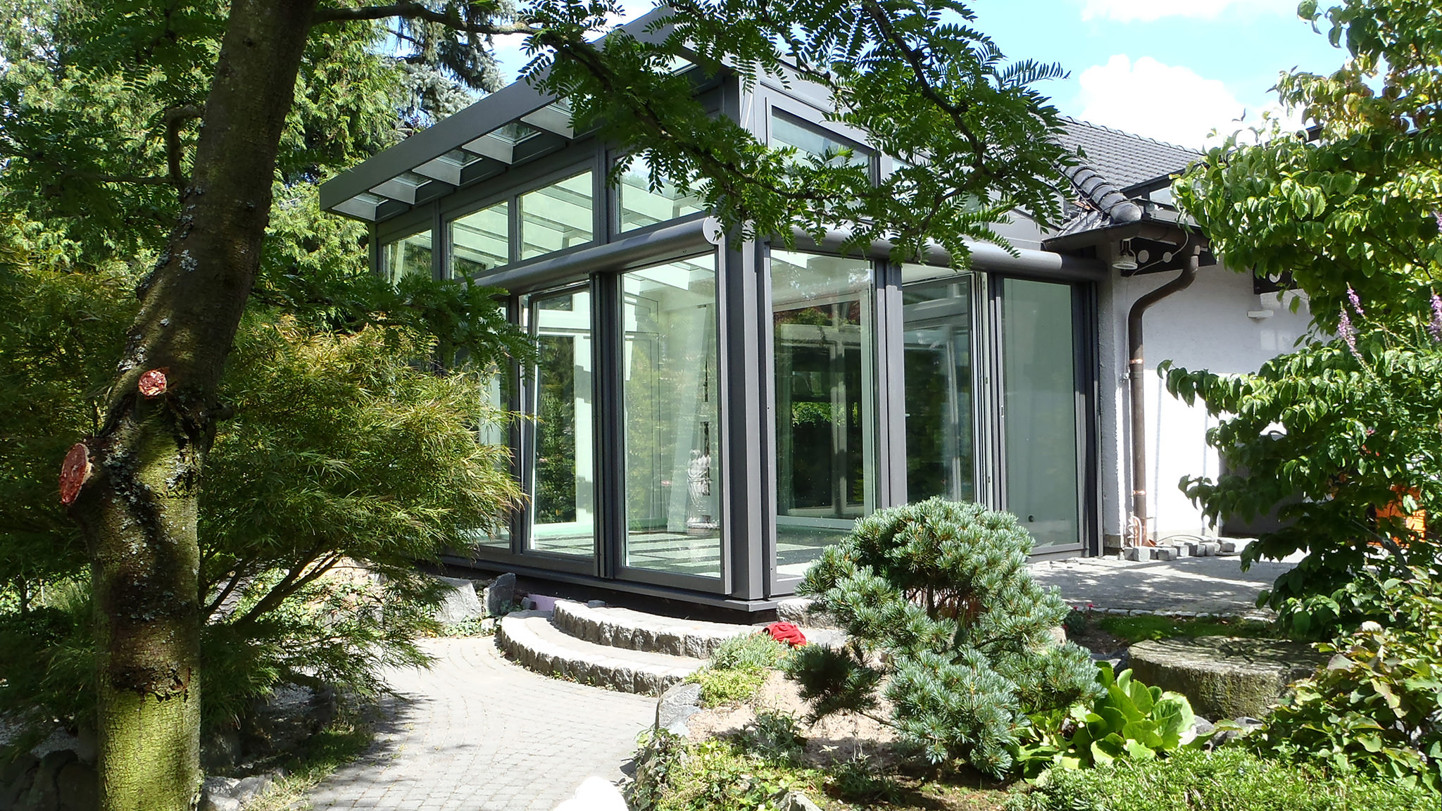 Wintergarten-Architektur: Traditionell