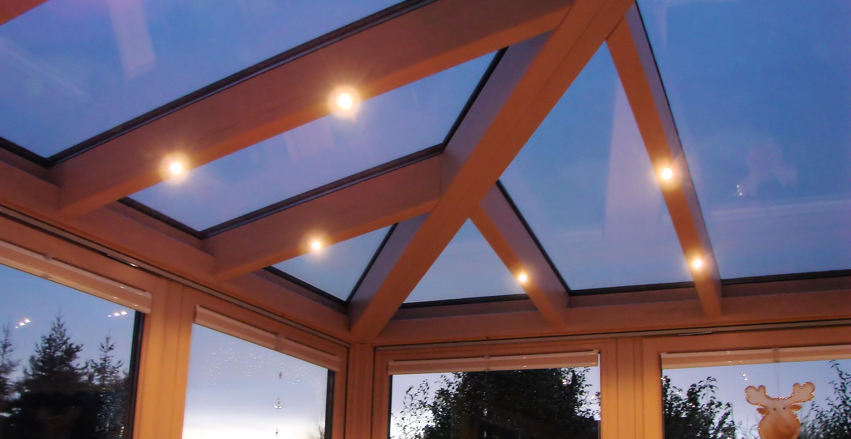 Wintergarten-Dach mit selbstreinigendem Glas