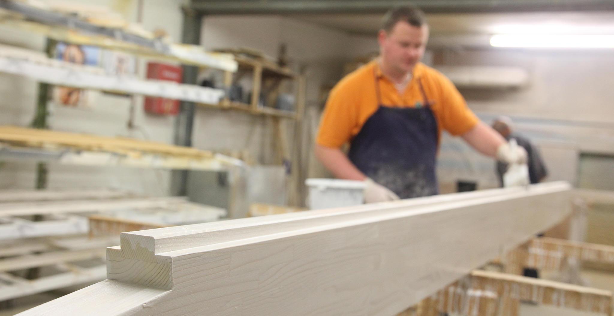 Holzbearbeitung Vom Profi Wintergartenbauer