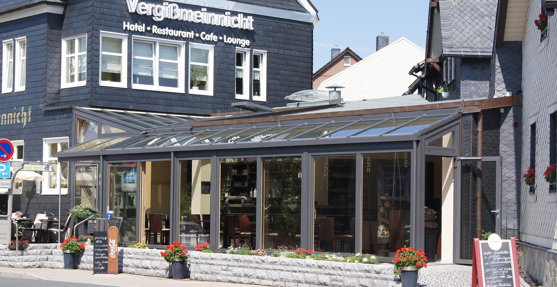 Gastronomiewintergarten im Modernen Stil -