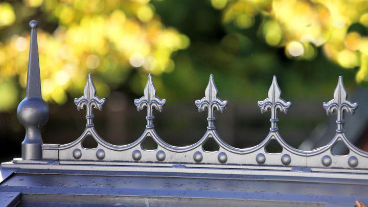 Viktorianischer Wintergarten: Ornamente