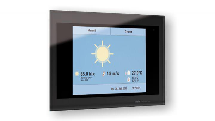 Wintergarten-Zubehör: Touchscreen zur Steuerung